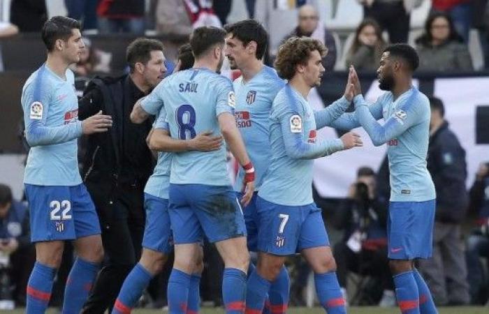 أتلتيكو مدريد ينتزع وصافة الليغا مؤقتا