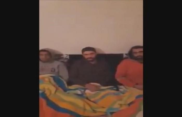 شاهد المختطفين التونسيين في ليبيا قبل تحريرهم