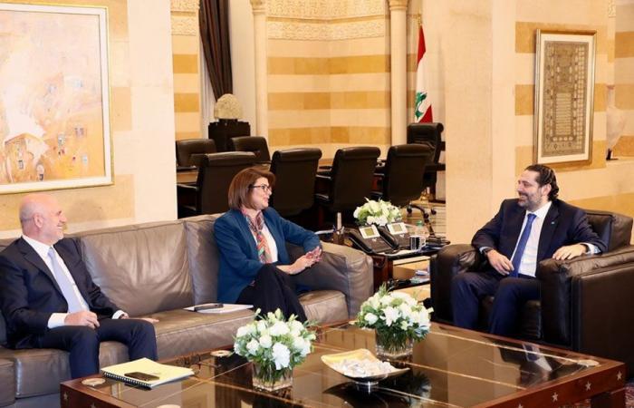 الحريري عرض مع الحسن وفنيانوس التنسيق بين الوزارتين