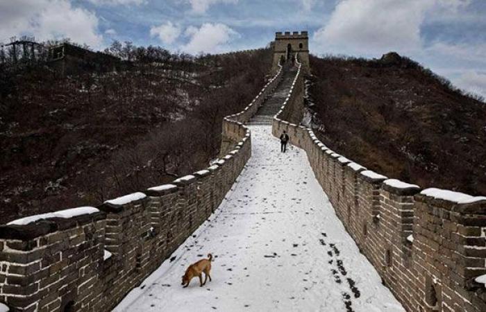 """بالفيديو: هذه أحدث """"عجائب"""" سور الصين العظيم!"""