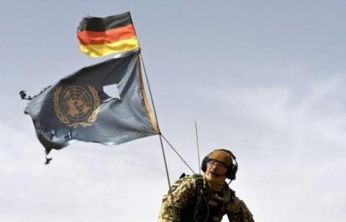 جرح جندي مالي جراء حادث تبادل للنيران مع القوات الألمانية