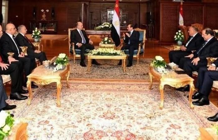 العراق | برهم صالح يبحث مع السيسي سبل التعاون بين البلدين