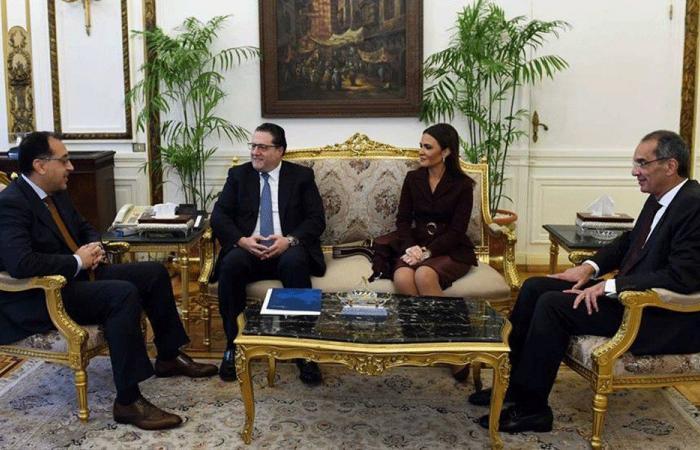 شقير التقى رئيس وزراء مصر: نتطلع لتعزيز العلاقات