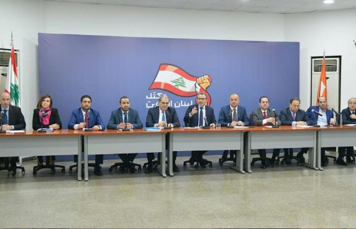 """وزراء """"لبنان القوي"""" عرضوا خططهم للـ100 يوم"""