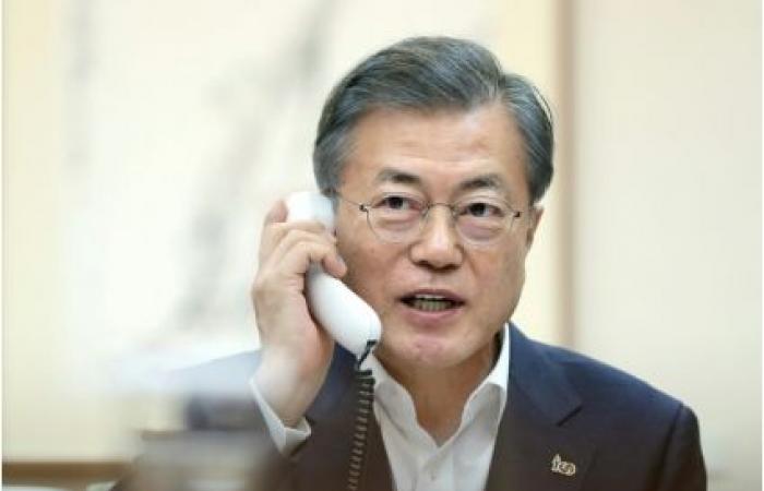 رئيس كوريا الجنوبية يدعو لاستئناف المحادثات بين واشنطن وبيونغ يانغ