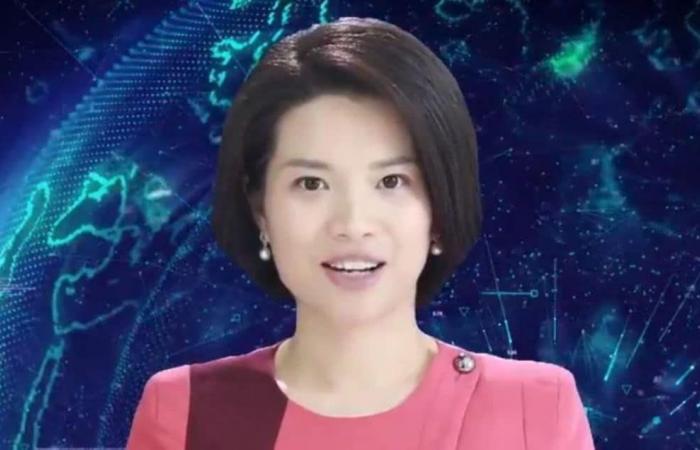 الصين تقدم الأخبار باستخدام روبوت ذكاء اصطناعي انثوي