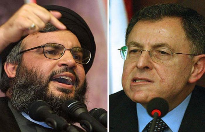 المواجهة مستمرة بين حزب الله والسنيورة