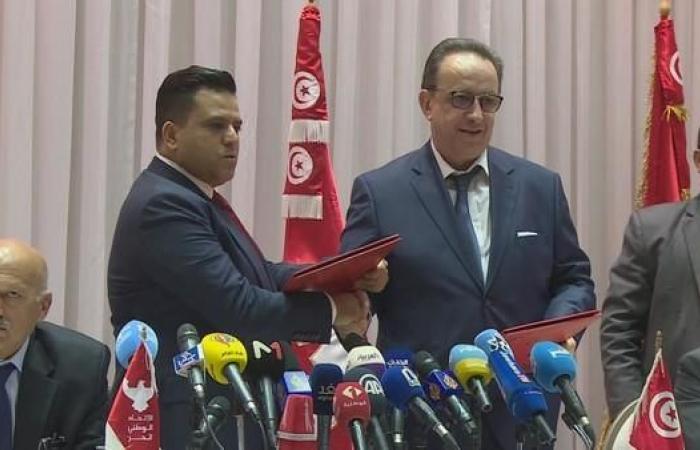 تونس.. نجل السبسي ينهي قطيعة الأب مع الغنوشي