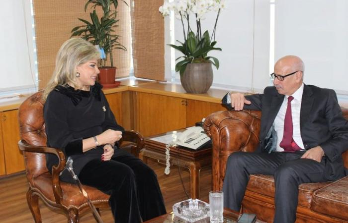 شدياق بحثت و سفير المغرب تفعيل المذكرة الموقعة بين وزارة البلدين