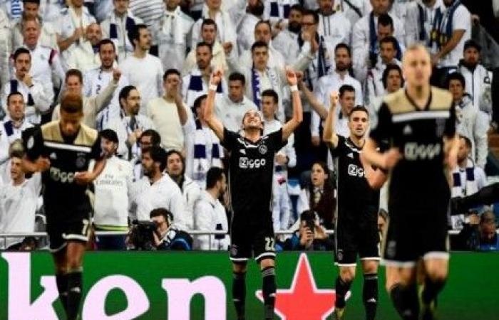 أياكس ينزع تاج أوروبا عن ريال مدريد