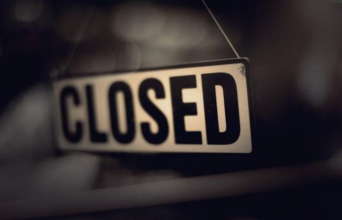 إقفال 8 محال تجارية في عكار