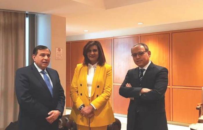 وزيرة الهجرة المصرية في لبنان