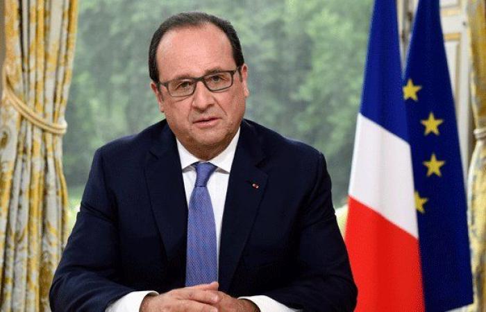هولاند في بيروت: فرنسا متمسكة بوحدة لبنان