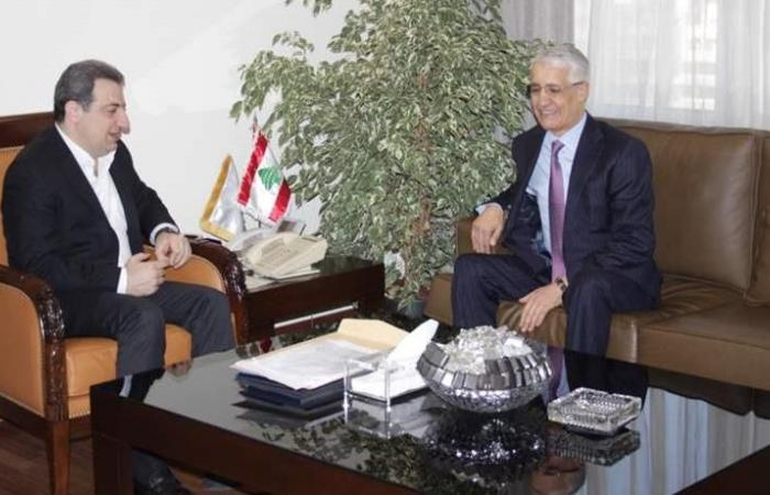 أبو فاعور عرض وسفير الجزائر تسهيل التبادل بين البلدين