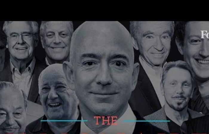 لبناني الأصل من بينهم: مؤسس أمازون يتربع على عرش قائمة أغنياء العالم.. وهذه مرتبة ترامب