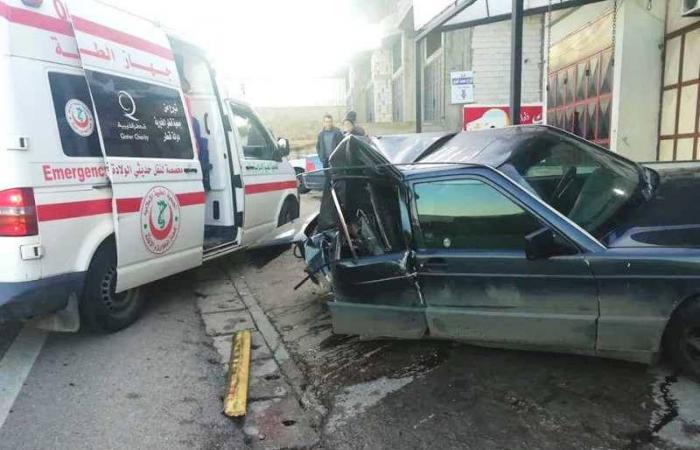 جريح في حادث سير على طريق الضنية-طرابلس