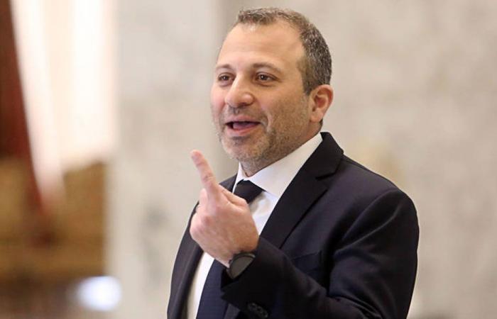 باسيل: لعدم المس بحقوق لبنان في المنطقة الإقتصادية الخاصة