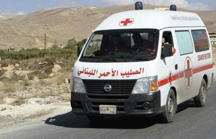 جريحان في حادث سير على طريق عام حلبا