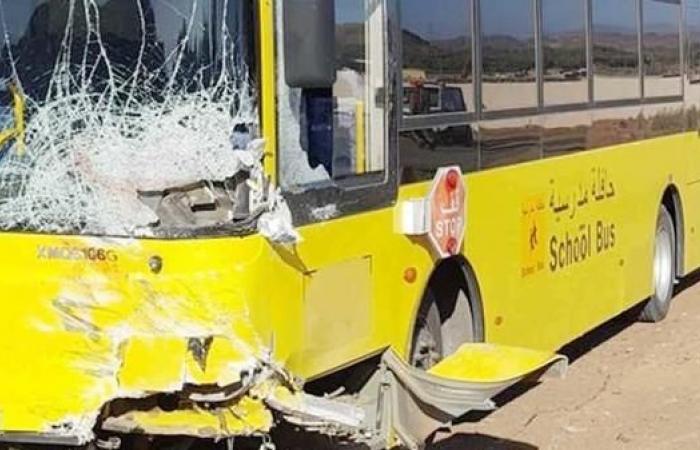 الخليح   وفاة 5 طلاب في تصادم حافلة مدرسية بالعلا