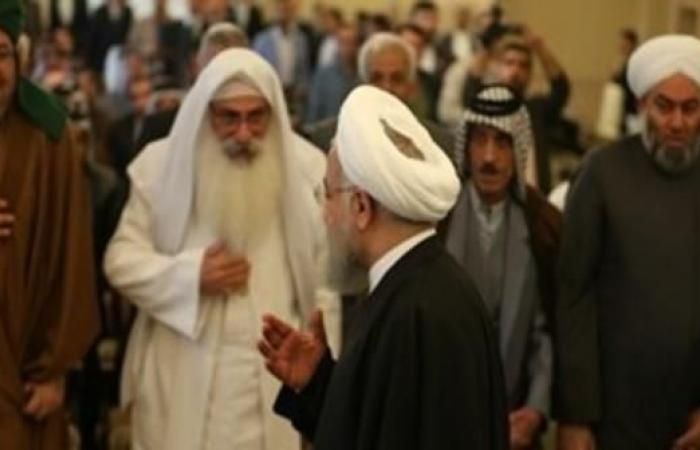 العراق   العراق..روحاني يخرق العرف الدبلوماسي ويلتقي بقادة عشائر