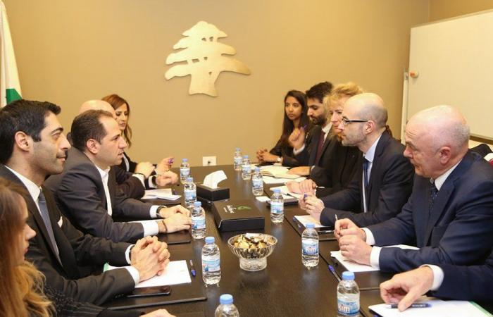 سامي الجميل: لتطبيق القرارات الدولية لاستعادة سيادة لبنان واستقلاله