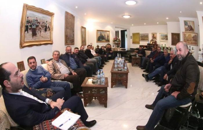 الوزير مراد وعد بمتابعة مشاكل القطاع الزراعي