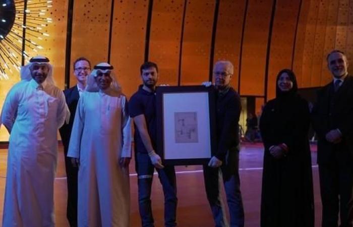 """الخليح   لأول مرة.. رسومات """"دافينشي"""" الشهيرة في السعودية"""