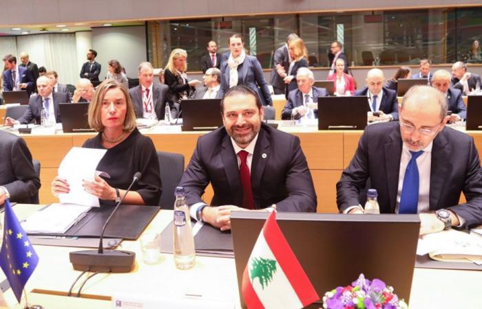 """لبنان يقف على عتبة """"بروكسل"""""""