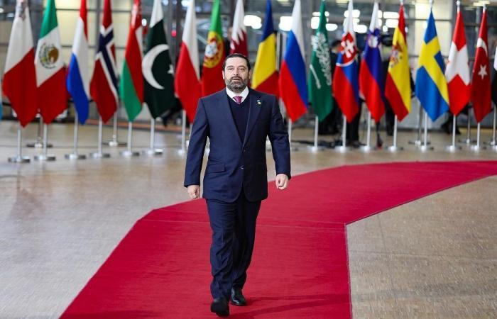 الحريري من بروكسل: سنتخذ قرارات صعبة لخفض الإنفاق