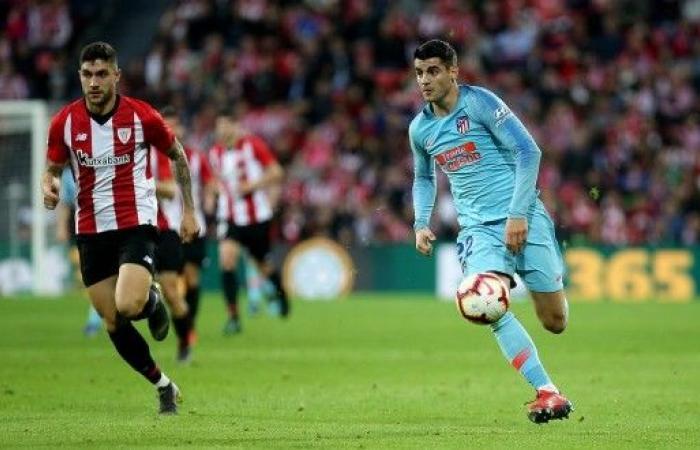 بيلباو يقهر أتلتيكو مدريد ويهدي برشلونة فرصة ذهبية لتوسيع الصدارة