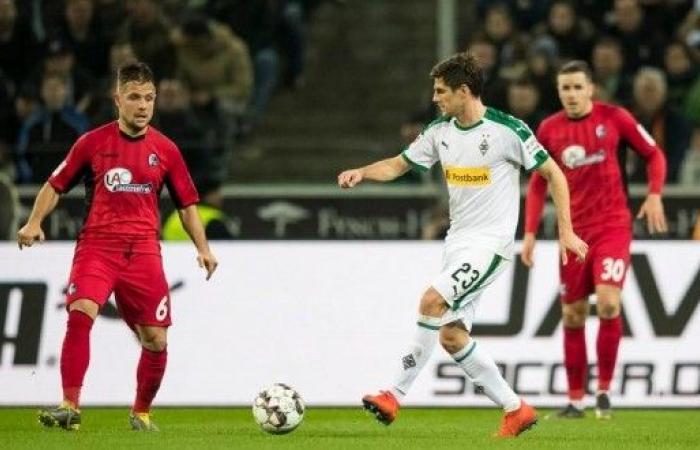 مونشنغلادباخ ثالثا مؤقتا في الدوري الألماني