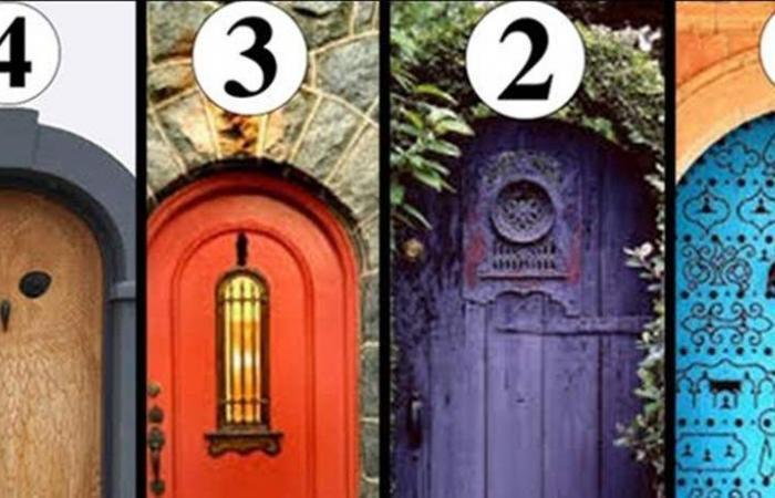 اختبار: أي من هذه الأبواب سيقودك الى السعادة؟