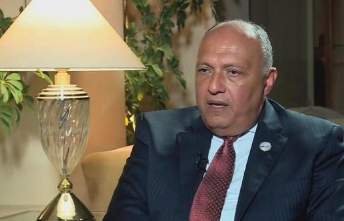 مصر   وزير الخارجية المصري إلى واشنطن لمباحثات مع بومبيو