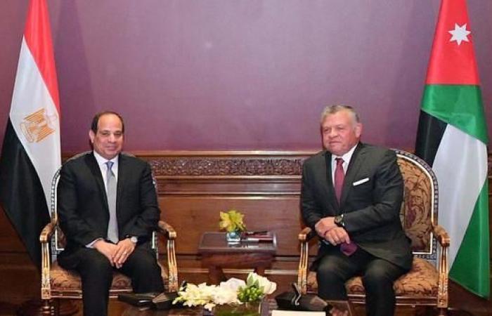 مصر | اتفاق مصري أردني على دعم الفلسطينيين لإقامة دولة مستقلة