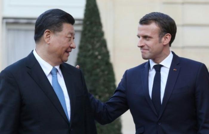 """ماكرون يدعو إلى """"شراكة قوية بين أوروبا والصين"""""""