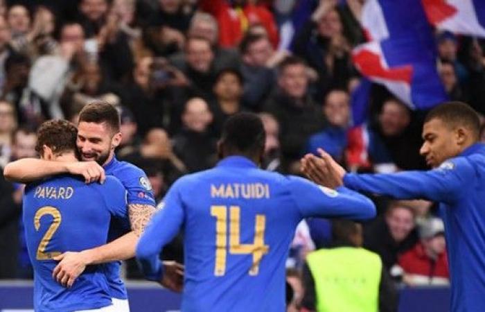 فرنسا تتخطى أيسلندا برباعية مبهرة