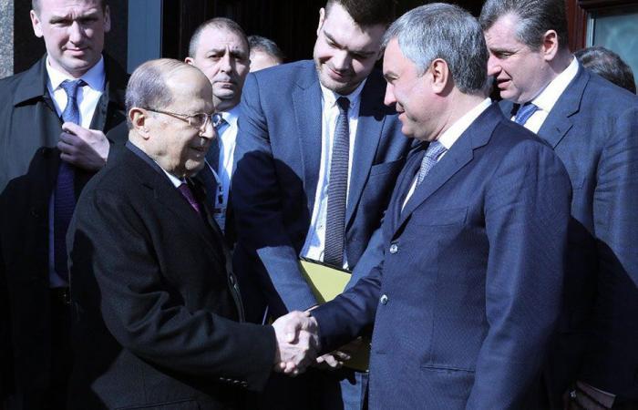 عون: من مصلحة روسيا عودة النازحين السوريين الى ديارهم