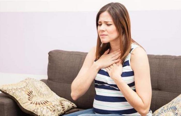 إليكِ أسباب حرقة المعدة في الشهر الثالث من الحمل