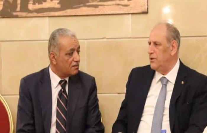 الجراح ممثلا الحريري قدم للسفير العراقي التعازي بضحايا العبارة