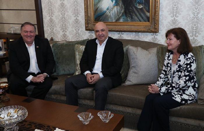 """بومبيو """"مزّق"""" ورقة استخدام لبنان إيرانيًا"""
