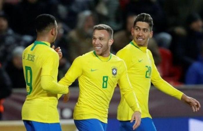 البرازيل تستعيد نغمة الفوز