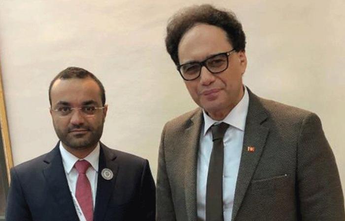 وزير الثقافة بحث ونظيره التونسي تفعيل التعاون