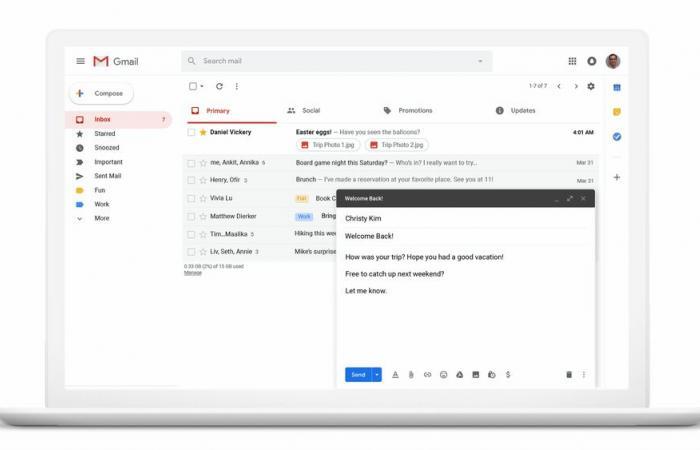 """جوجل تحتفل بمرور 15 عامًا على إطلاق جيميل بإضافة ميزة """"جدولة الإرسال"""""""