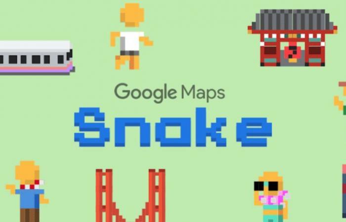 """جوجل تضيف لعبة الثعبان إلى خرائطها كـ """"كذبة…"""