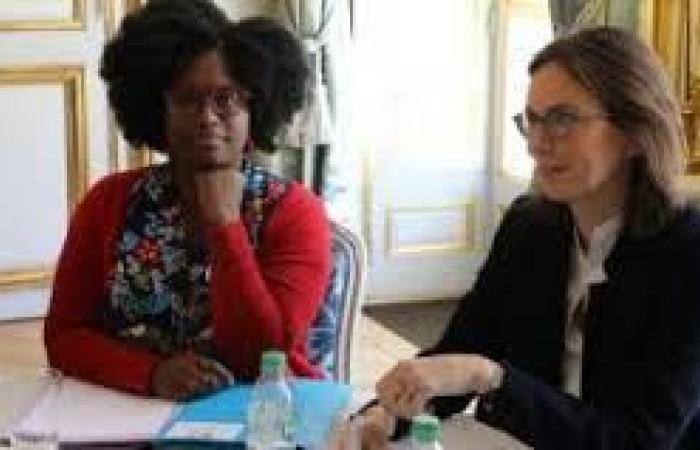 تعيين فرنسية من مولودة في السنغال متحدثة باسم الحكومة