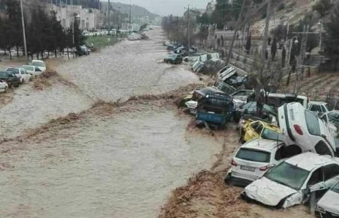 إيران | إيران تأمر بإخلاء 70 قرية في خوزستان بسبب خطر الفيضانات