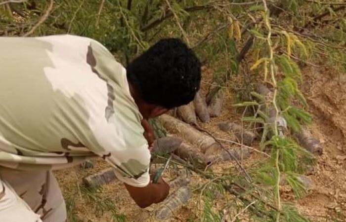 اليمن | اليمن.. ضبط 80 طناً من متفجرات تنظيم القاعدة