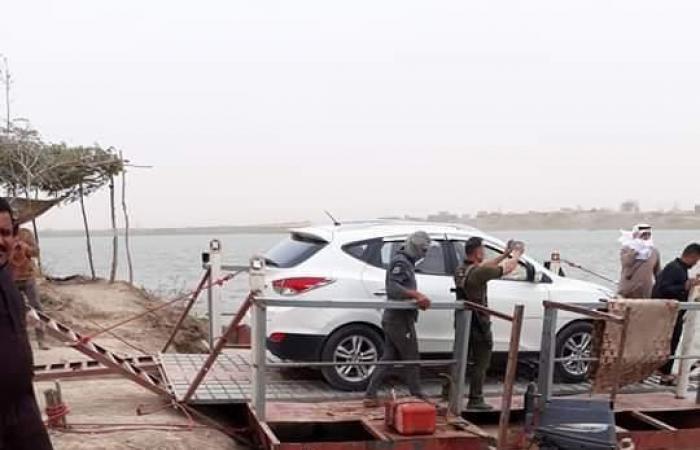 """العراق   المياه تغرق الشرقاط.. والسكان يتمسكون بـ""""عبارات الموت"""""""