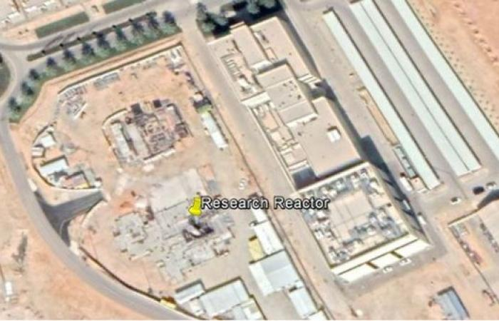 الخليح   صور أقمار صناعية تظهر مفاعلاً نووياً قرب الرياض