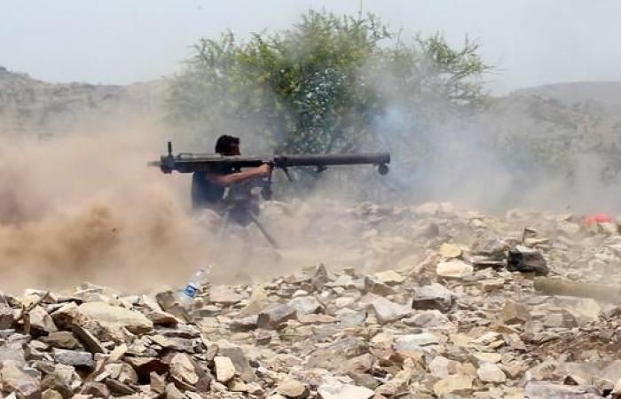 اليمن   اشتباكات عنيفة شمال الضالع والجيش يقصف مواقع الحوثيين